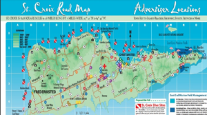 St. Croix map